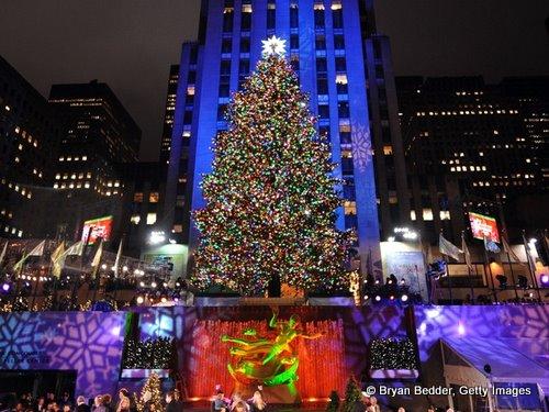 Tree Lighting Rockefeller Center
