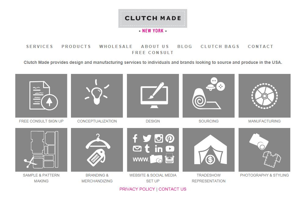 Free consultation at www.clutchmade.com