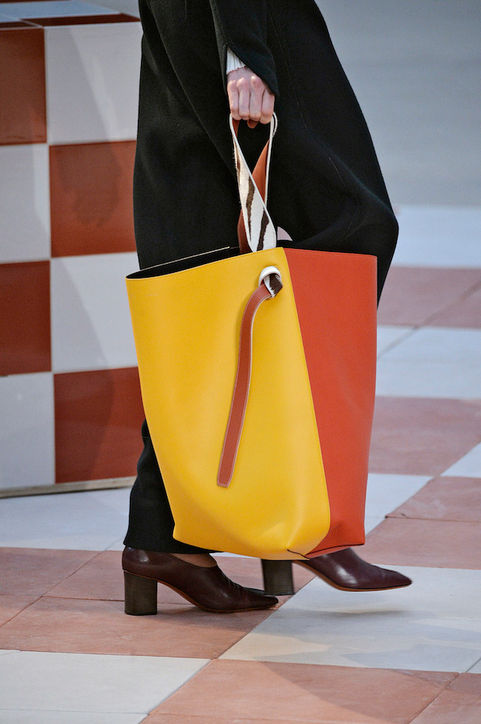 Two Toned Celine Tote